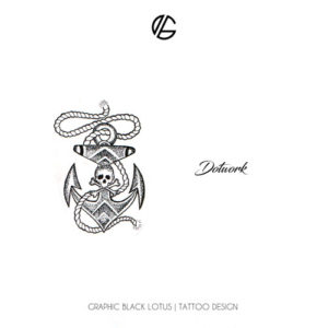 dotwork-design-tattoo-sailor-anchor-skull-oldschool
