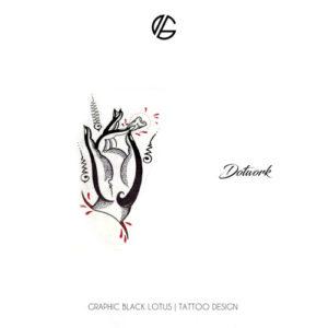dotwork-tibetan-hand-tattoo-design