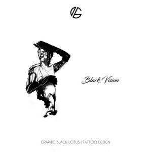women-splash-black-vision-tattoo-design