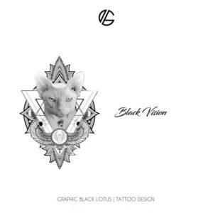 artwork-catblack-vision-tattoo-design