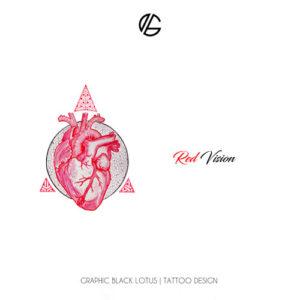 heart-geometricred-vision-tattoo-design