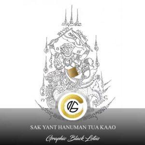 sak-yant-hanuman-lion-tua-kaao-tattoo-design