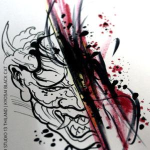 demon-hannya-tattoo-design-japanese