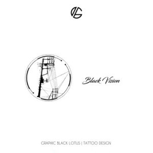 geometric-black-vision-tattoo-design