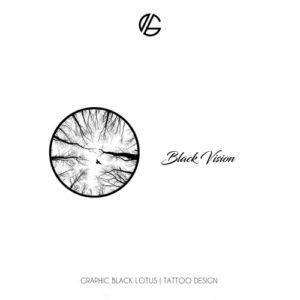 forest-black-vision-tattoo-design