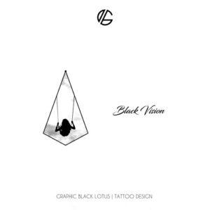 black-vision-tattoo-design