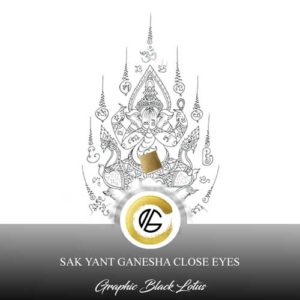 sak-yant-ganesh-close-eyes-tattoo-design
