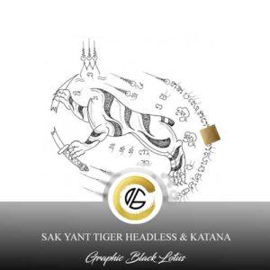 sak-yant-tiger-headless-katana-tattoo-design